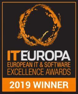IT Europa - European IT & Software Excellence Awards - 2019 Winner